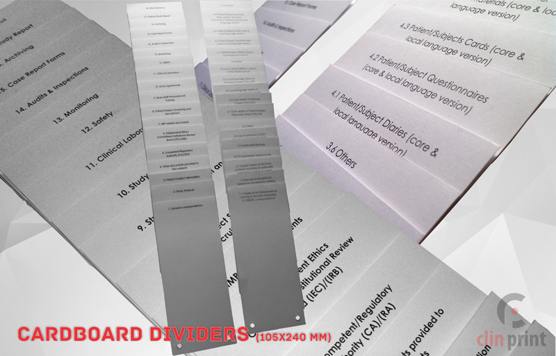 Carboard Dividers