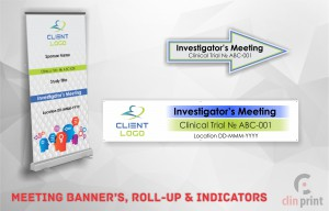 Meeting Banner's, Roll-Up and Indicators