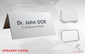 Speaker Cards