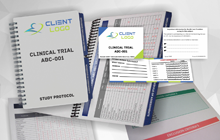 Recruitment and other materials used in clinical trials