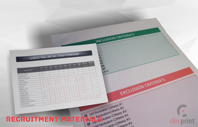 Recruitment Materials