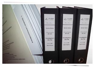 Clinprint binder setup