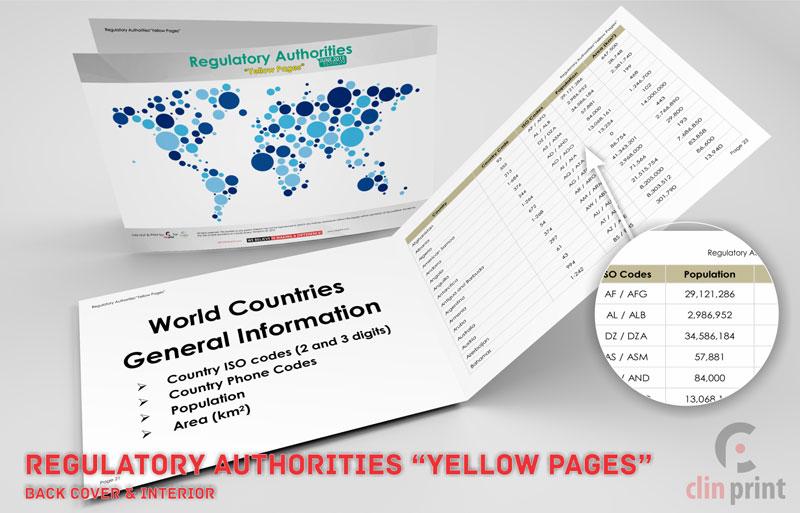 Regulatory Authorities - Clinprint